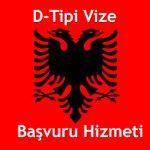 Arnavutluk D-Tipi Uzun Oturum Vizesi